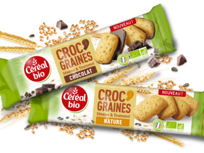 Croc graine cereal bio cartoon.design