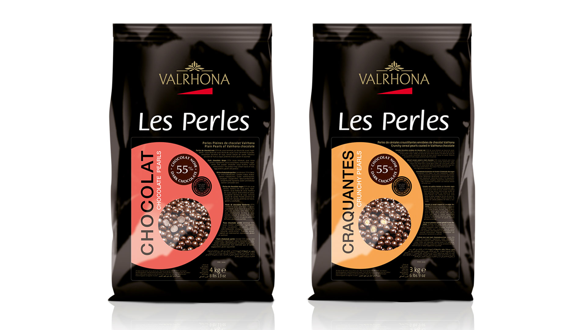 Les perles valrhona cartoon.design
