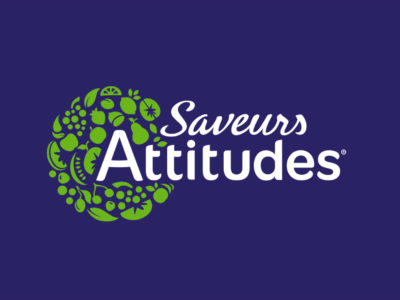 logo saveurs attitudes cartoon.design