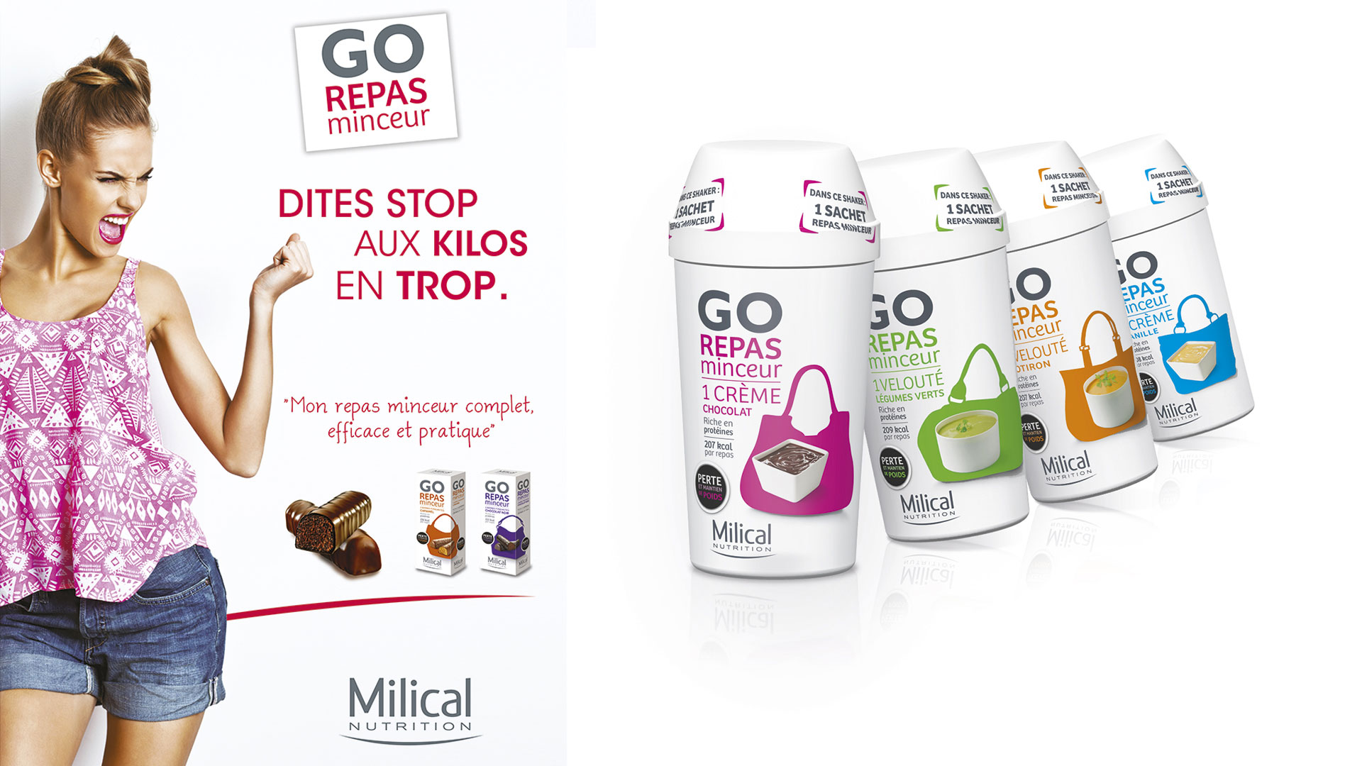 milical go repas minceur cartoon.design