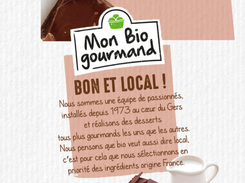 Mon-bio gourmand cartoon.design