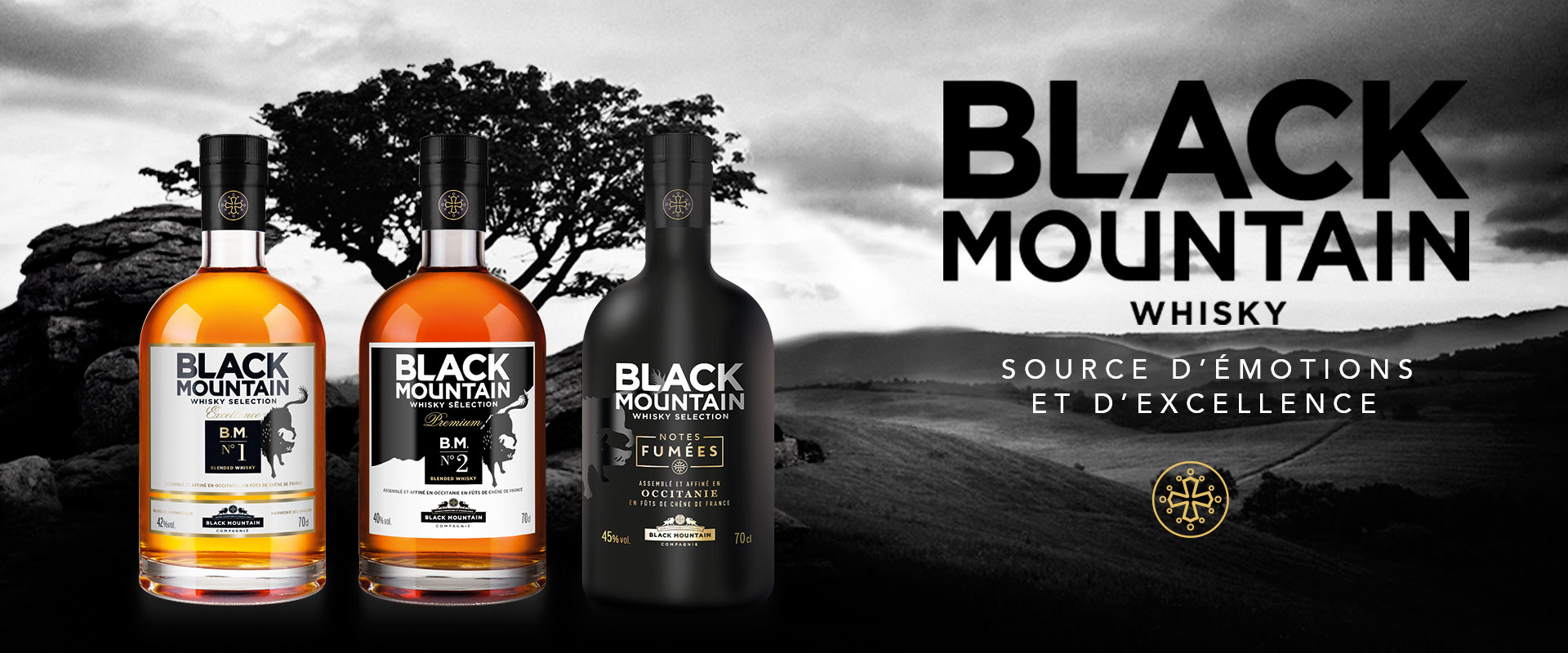 3bouteilles black mountain.cartoon.design