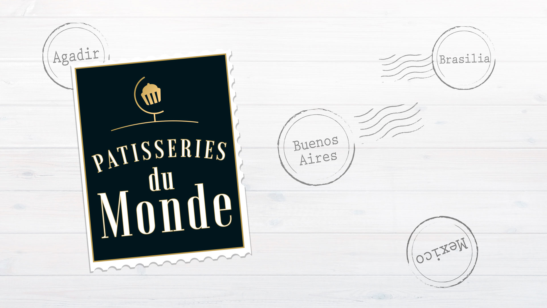 logo patisserie du monde cartoon.design