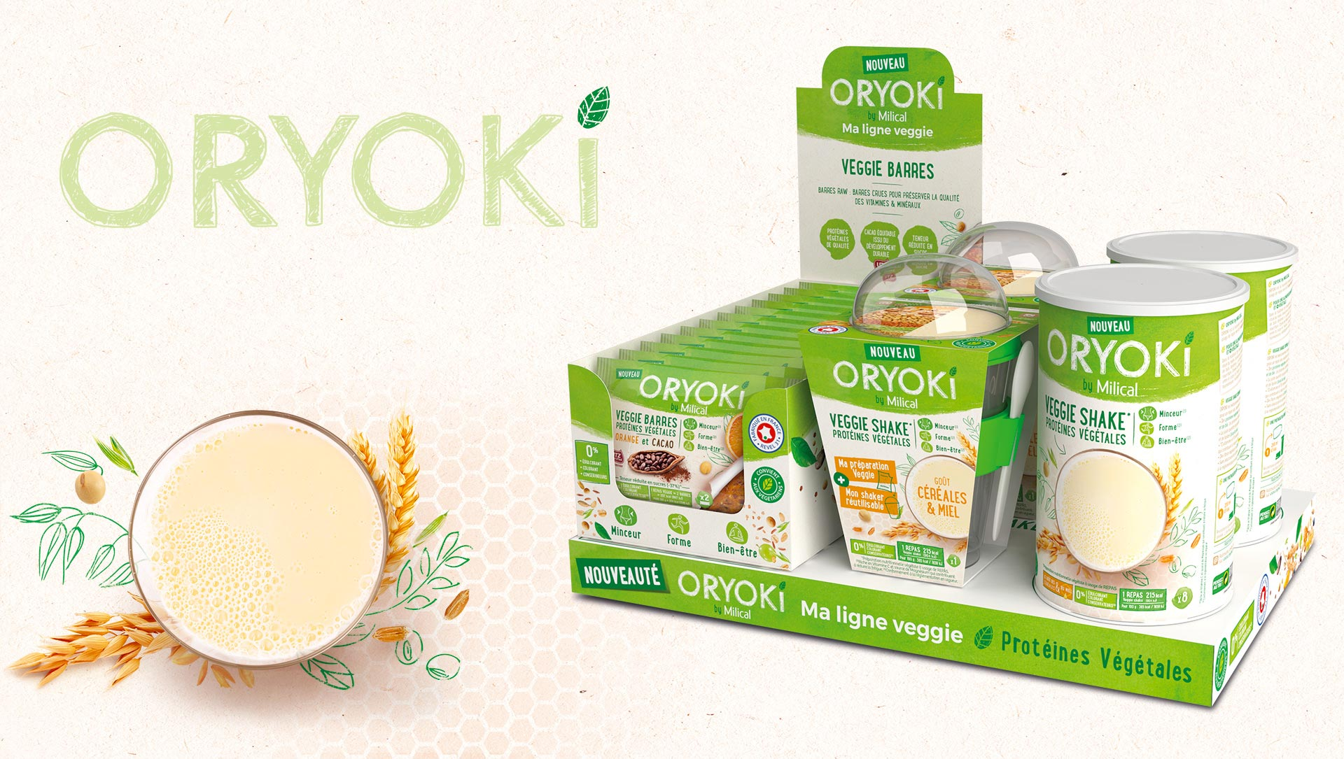 presentoir-comptoir oryoki cartoon.design